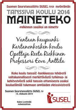 Maineteko - Tanssiva koulu
